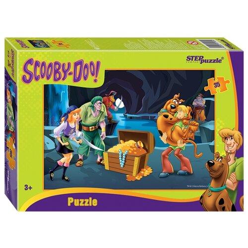 Купить Пазл Step puzzle Уорнер Браз Скуби-ду (91160), 35 дет., Пазлы
