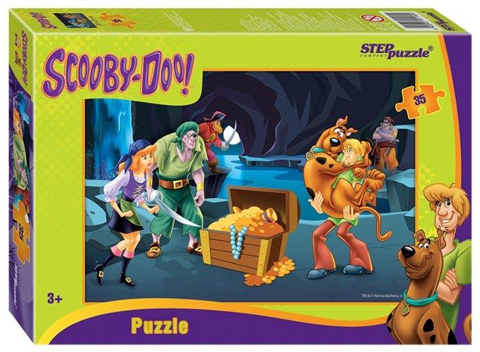 Пазл Step puzzle Уорнер Браз Скуби-ду (91160), 35 дет.