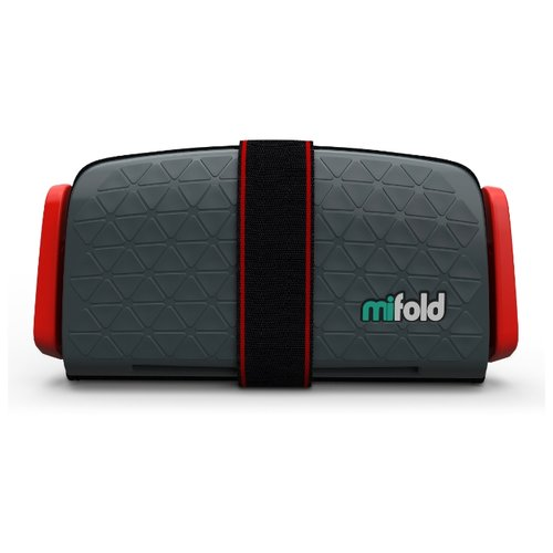 Бустер группа 3 (22-36 кг) Mifold The Grab and Go Booster, slate grey бустер mifold the grab and go slate grey