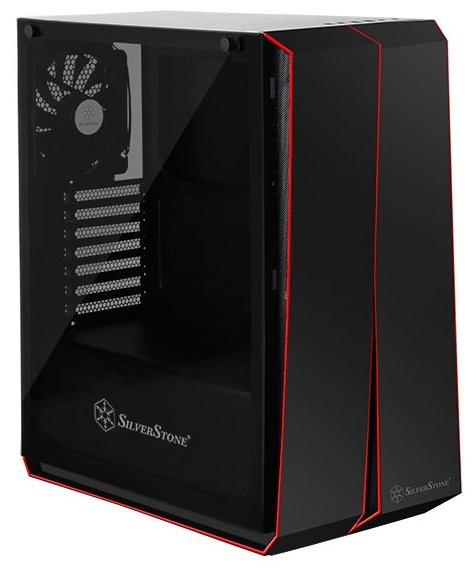 SilverStone Компьютерный корпус SilverStone RL07B-G Black