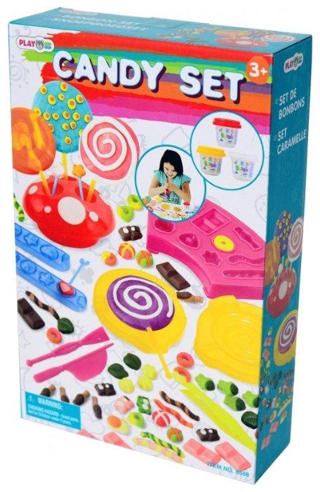Масса для лепки PlayGo Фабрика конфет (8588)