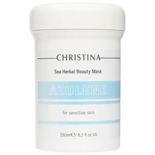 Christina Sea Herbal маска красоты Азулен, 250 мл christina sea herbal маска красоты яблоко 250 мл