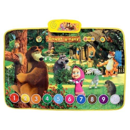 Купить Музыкальный коврик Умка Маша и Медведь Домик в лесу (HX1803-R2), Игровые коврики