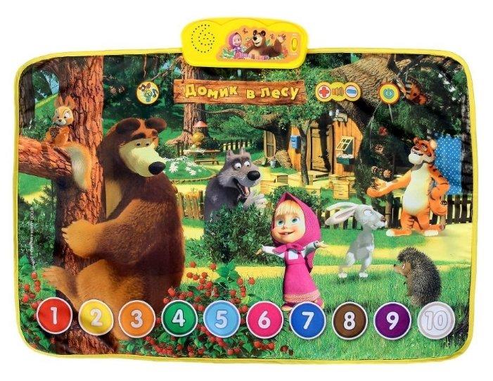 Музыкальный коврик Умка Маша и Медведь Домик в лесу (HX1803-R2)