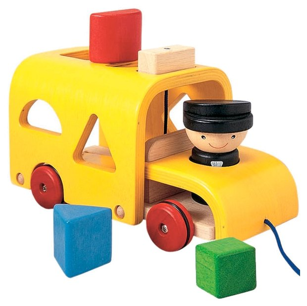 Каталка-игрушка PlanToys Sorting Bus (5121)