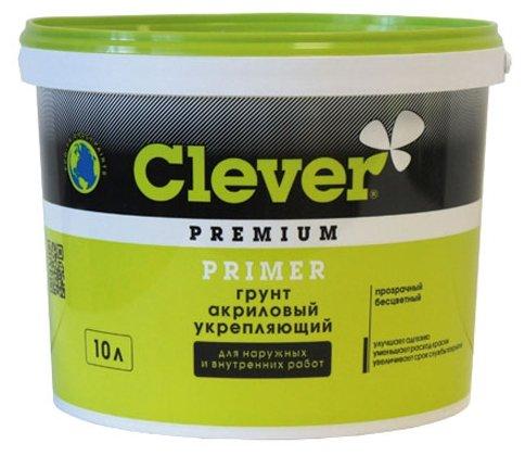 Грунтовка CLEVER Primer укрепляющий (10 л)
