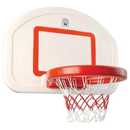 Баскетбольное кольцо pilsan со щитом (03 389) белый/красныйСпортивные игры и игрушки<br>