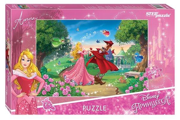 Пазл Step puzzle Disney Принцесса Аврора (97056), 560 дет.