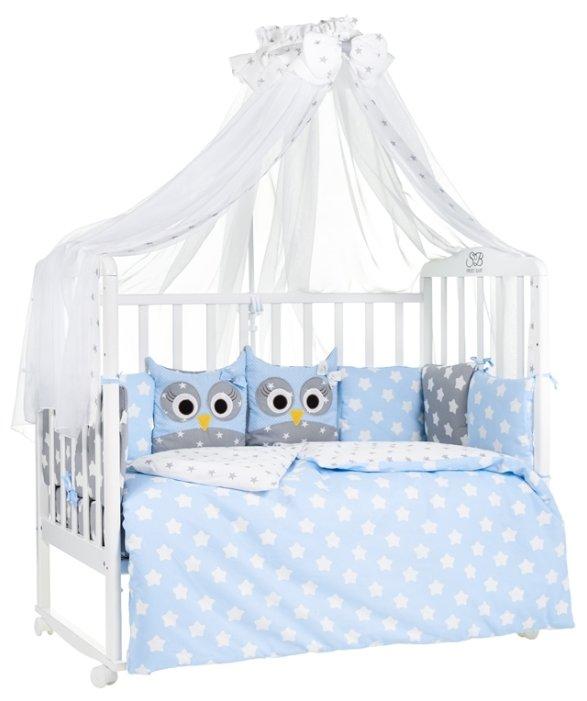 SWEET BABY комплект в кроватку Uccellino (7 предметов)