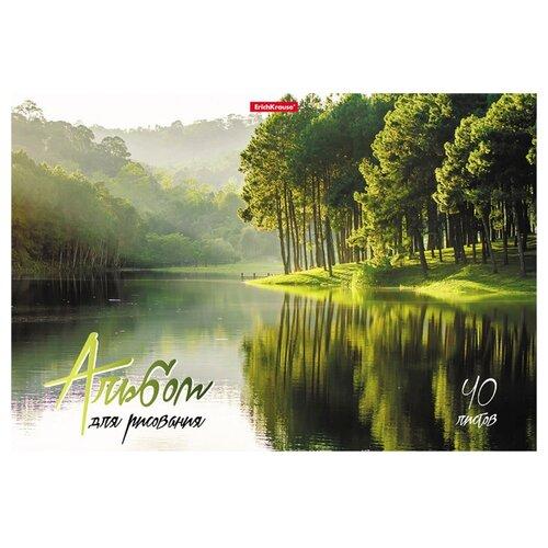 Купить Альбом для рисования ErichKrause На природе 29.7 х 21 см (A4), 120 г/м², 40 л., Альбомы для рисования