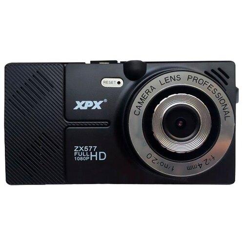 Фото - Видеорегистратор XPX ZX577, 2 камеры, GPS, черный видеорегистратор trendvision amirror 10 android 2 камеры gps черный