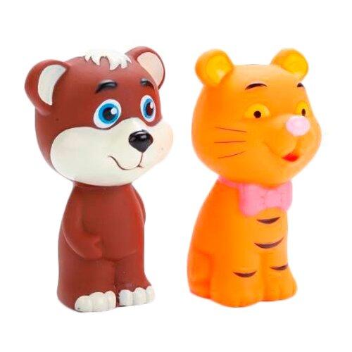 Купить Набор для ванной Играем вместе Тигр и мишка (LXB298_294), Игрушки для ванной