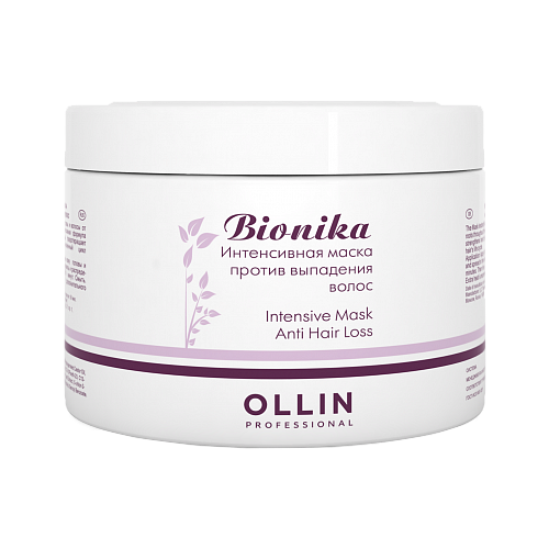 OLLIN Professional Bionika Интенсивная маска против выпадения волос, 450 мл ollin professional bionika витаминно энергетический комплекс против выпадения волос vitamin energy complex 100 мл