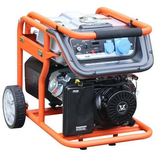 Бензиновый генератор ZONGSHEN KB 7000 (6000 Вт) бензиновый генератор kronwerk kb 5000 4500 вт