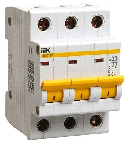 Автоматический выключатель IEK ВА 47-29 3P (B) 4,5kA