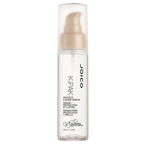 Фото - Joico K-Pak Сыворотка для защиты и блеска волос, 50 мл joico мусс для укладки с термозащитой k pak 300 мл