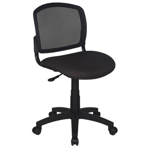 Компьютерное кресло Бюрократ CH-296NX офисное, обивка: текстиль, цвет: черный/черный