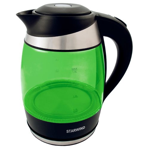 Чайник STARWIND SKG2213, зеленый чайник starwind skg2213 зеленый