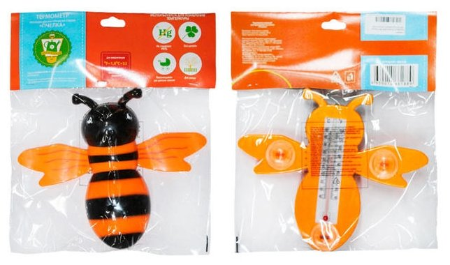 Термометр GARDEN SHOW Пчелка