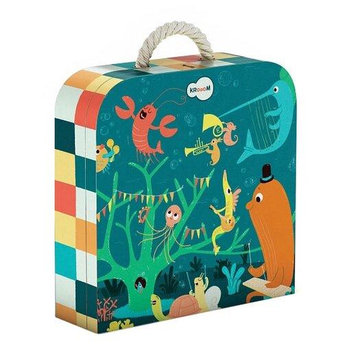 Пазл Krooom Морские животные (k-601), 45 дет. krooom игрушки из картона 3d пазл монстры k 701