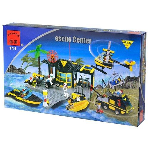 Купить Конструктор Qman City 111 Спасательный центр, Конструкторы