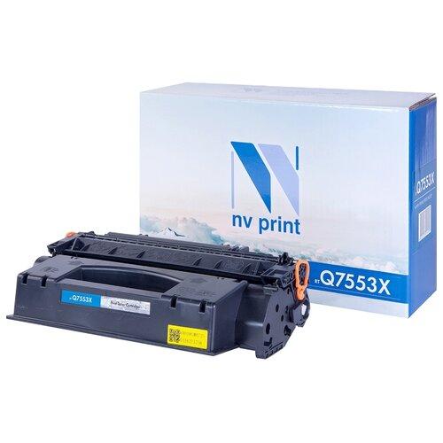Фото - Картридж NV Print Q7553X для HP, совместимый картридж nv print cf380x для hp