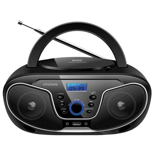 Магнитола Hyundai H-PCD140/H-PCD160/H-PCD180 черный/серыйМагнитолы<br>