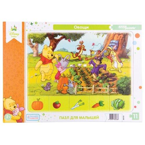 Рамка-вкладыш Step puzzle Disney Baby Овощи (80438), 11 дет., Пазлы  - купить со скидкой