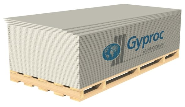Гипсокартонный лист (ГКЛ) Gyproc Оптима Лонг 3000х1200х12.5мм