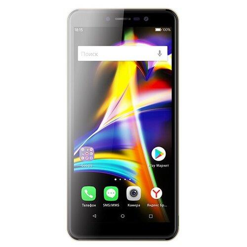 Смартфон BQ 5508L Next LTE серый смартфон bq bq 5002g fun red