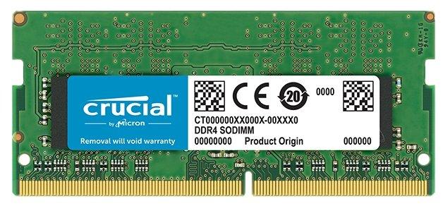 Оперативная память 16 ГБ 1 шт. Crucial CT16G4SFD8266 — купить по выгодной цене на Яндекс.Маркете