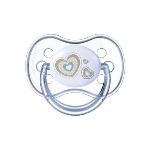Купить Пустышка силиконовая анатомическая Canpol Babies Newborn Baby 0-6 м (1 шт) белый, Пустышки и аксессуары