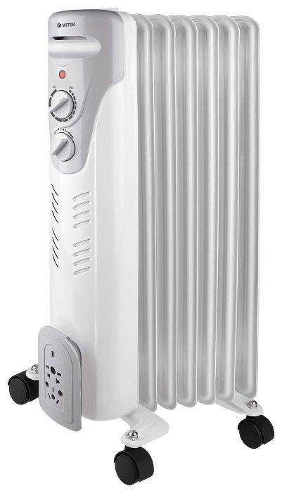 Масляный радиатор VITEK VT-1708 W фото 1