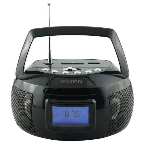 Магнитола Hyundai H-PAS140/H-PAS160 черный