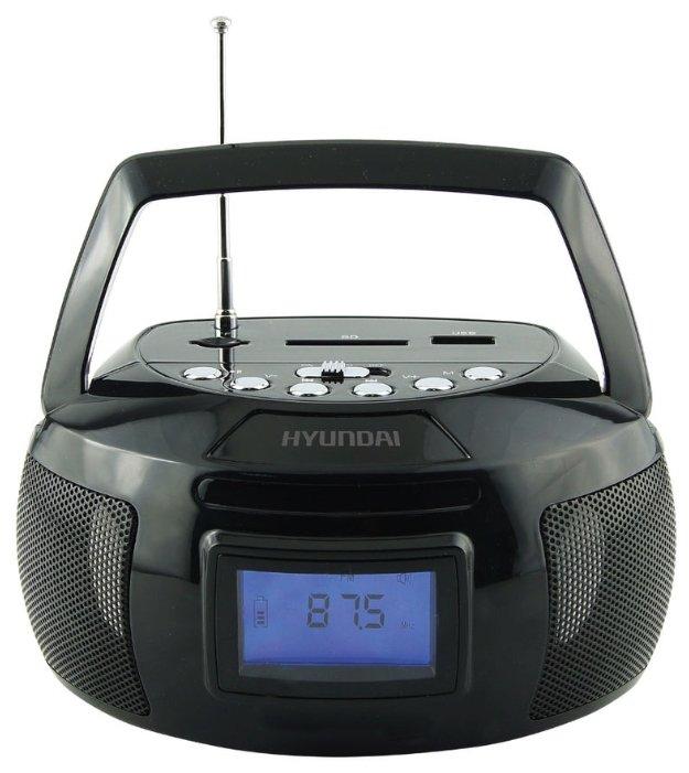 Магнитола Hyundai H-PAS140 Black