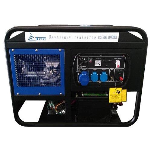 Дизельный генератор ТСС SDG-10000EH (10000 Вт) дизельный генератор hyundai dhy 8000se