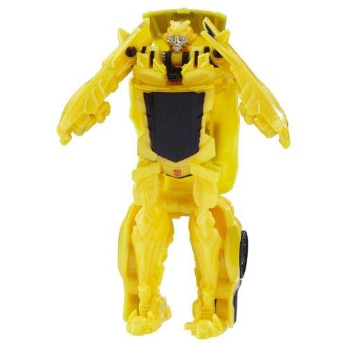 роботы transformers hasbro трансформеры 5 movie уан степ Трансформер Hasbro Transformers Бамблби. Уан-Степ (Трансформеры 5) C1311 желтый/черный