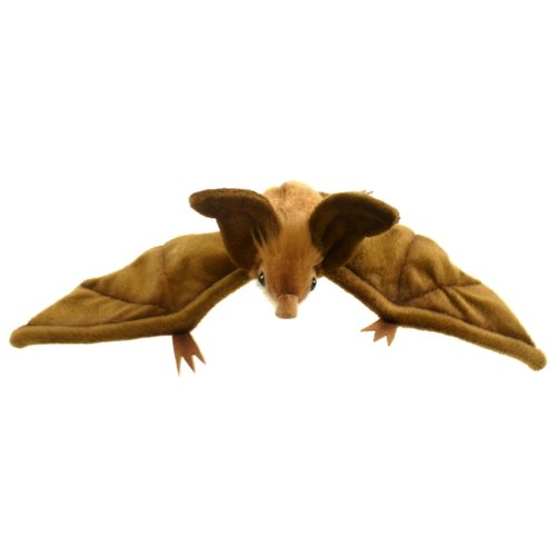 Купить Мягкая игрушка Hansa Летучая мышь коричневая 10 см, Мягкие игрушки