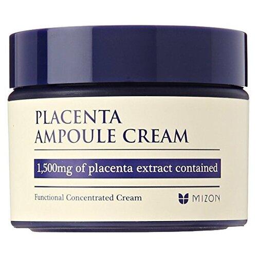 Mizon Placenta ampoule cream Плацентарный крем для лица, 50 мл dr select шампунь placenta shampoo ех плацентарный 500 мл