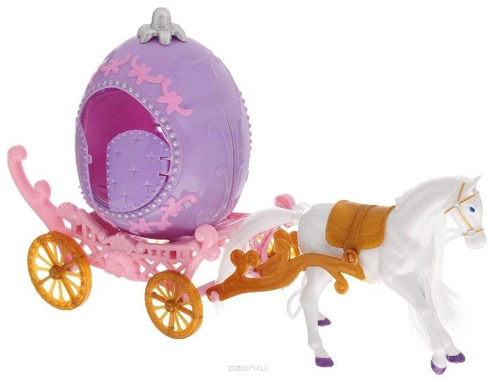 Игровой набор 1TOY Карета с лошадью (Т59150)