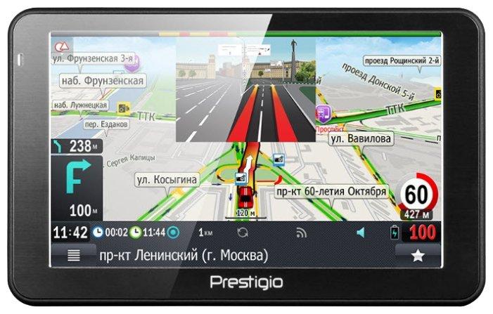 Навигатор с радар-детектором Prestigio GeoVision 5068 Progorod