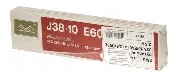 Электроды для ручной дуговой сварки Golden Bridge J38.10 4мм 5кг