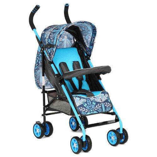 Прогулочная коляска Glory 1105, голубой/черный прогулочная коляска bimbo angel f голубой