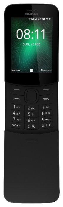 Телефон Nokia 8110 4G черный