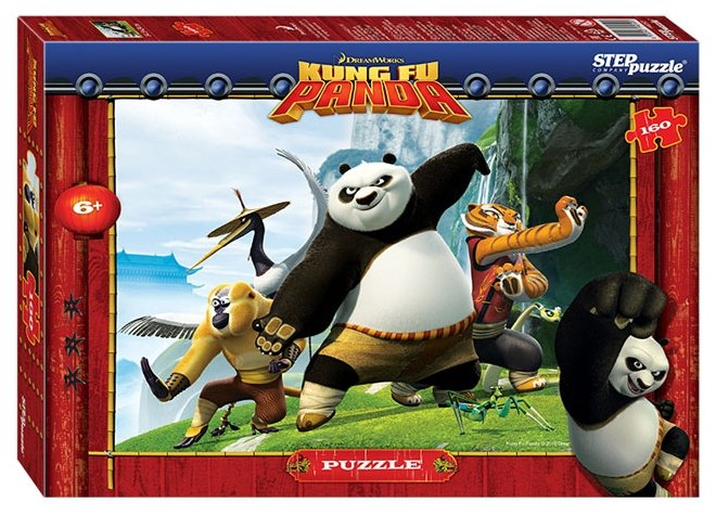 Пазл Step puzzle DreamWorks Кунг-фу Панда (94050), 160 дет.