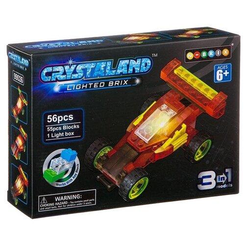 цена на Конструктор Crystaland Lighted Brix 99026 Гоночная машина