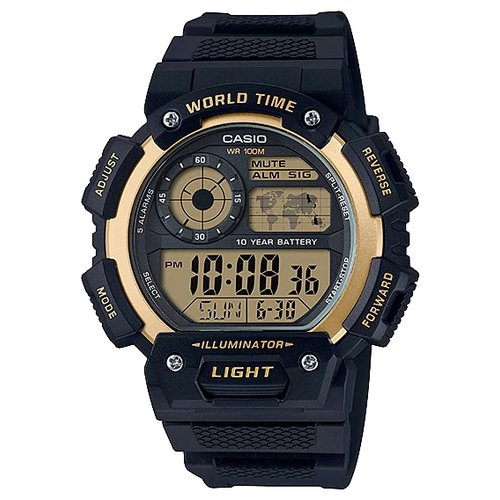 Наручные часы CASIO AE-1400WH-9A casio часы casio ae 2100w 4a коллекция digital
