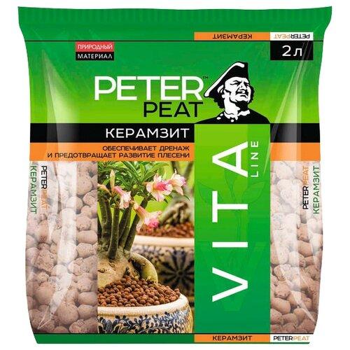Керамзит (дренаж) PETER PEAT Vita Line фракция 5-10 мм 10 л.
