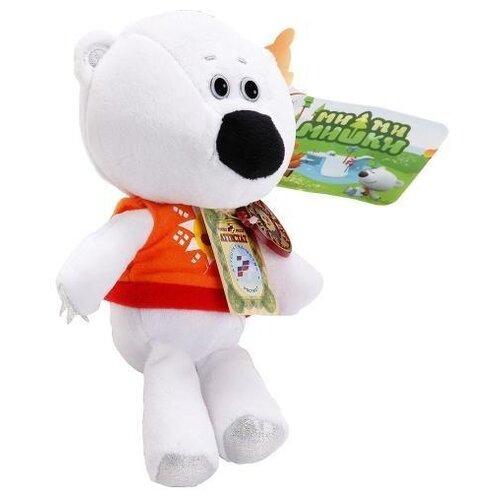 Купить Мягкая игрушка Мульти-Пульти Ми-ми-мишки Медвежонок Белая тучка 25 см в коробке, Мягкие игрушки