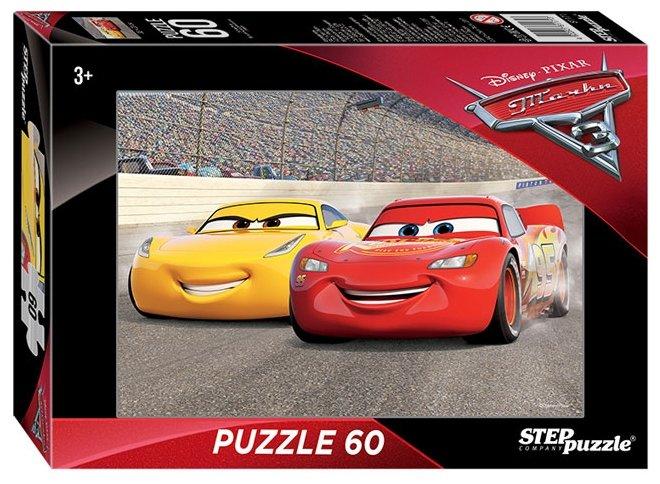 Пазл Step puzzle Disney Тачки - 3 (81171), 60 дет.